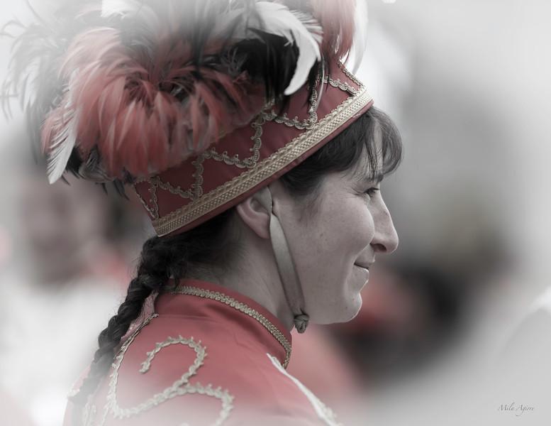 Zamalzaina (Maskarada 2012, Xiberoa)<br /> Basque dancer symbolizing a colt in Maskarade festival (Xiberoa 2012)