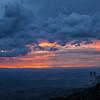 Egunsentia Errioxan<br /> Sunset in La Rioja