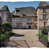 Andurain Gaztelua,  XVII mendeko arkitektura (Maule, Xiberoa)<br /> Château d'Andurain, architecture of the 17th century (Maule, Xiberoa)