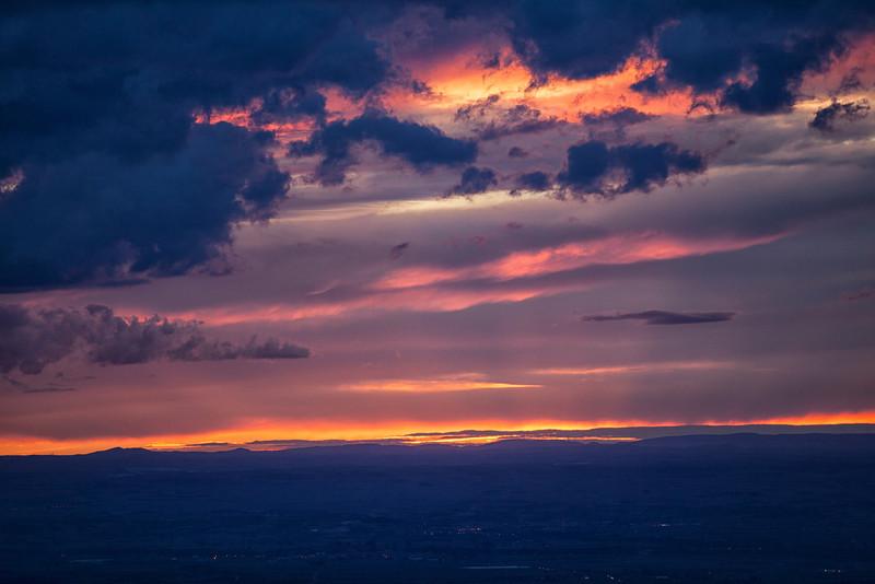 Ilunsentia Errioxan.<br /> Sunset in La Rioja