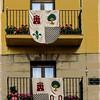 """Subida al olmo"" kalea (Bastida)<br /> ""Subida al olmo"" street (Labastida, Araba)"