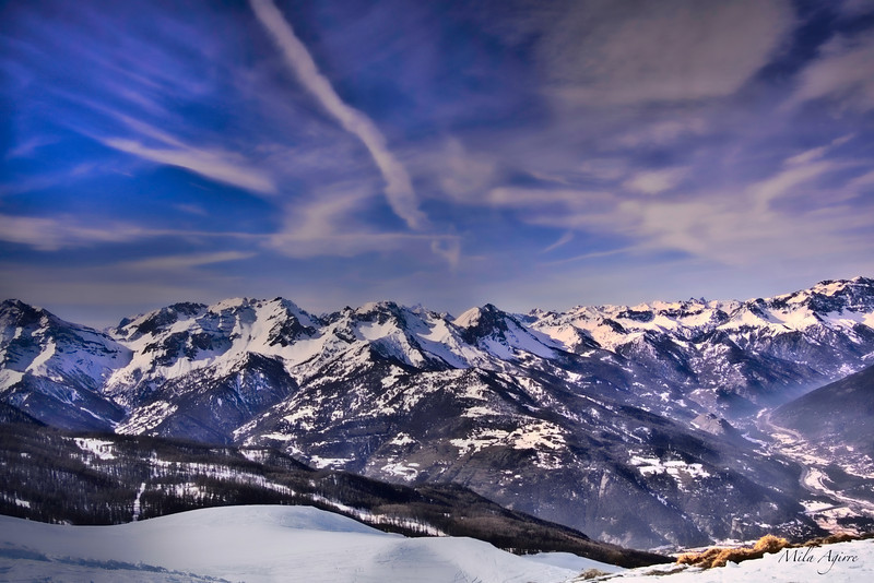 Romantic mountains