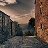 Sunset melancholy... (Cortona, Tuscany)