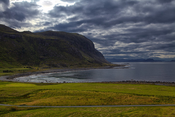 The isolated beauty of Alnes.