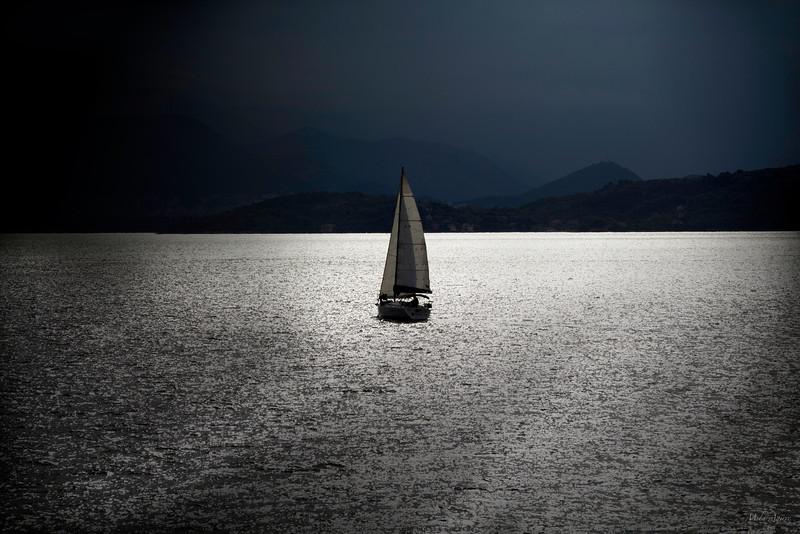 Sailing the silver sea