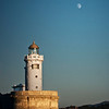 The lighthouse of Arriluce (Getxo, Biscay, Basque Country)