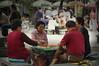 Playing mahjong in Dali (Yunnan)