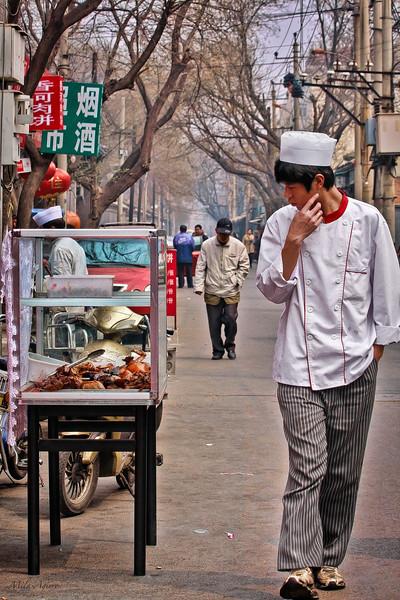 Does he think it's tasteful? (Beijing)