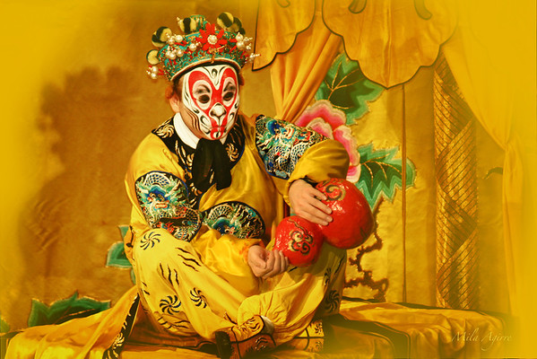 Beijing opera, one of the cultural treasures of China