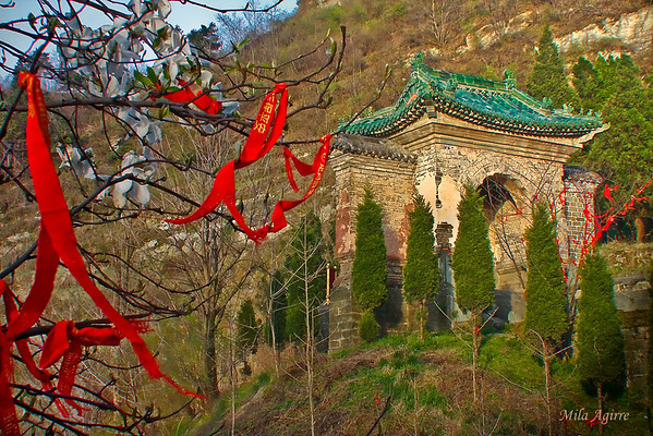 Wudang Mountain temples, a UNESCO World Heritage Site since 1994