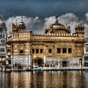 The Golden Temple,  located in Amritsar,  is the most important religious place of Sikhism.
