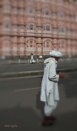 Hawa Mahal or The Palace of Winds (Jaipur, India). Jaipur, The Pink City, is Rajasthan's Capital and a must-see city :)