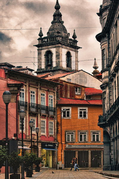 Braga was founded by the Romans in 279 BC.The city, in northwestern Portugal, is the oldest archdiocese and the third major city of the country. The old town is full of attractive corners