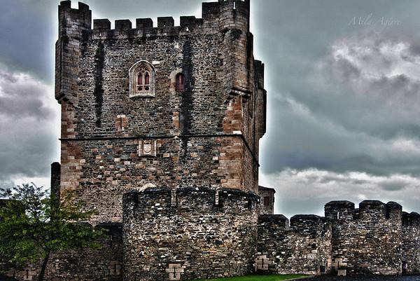 The castle of Bragança.