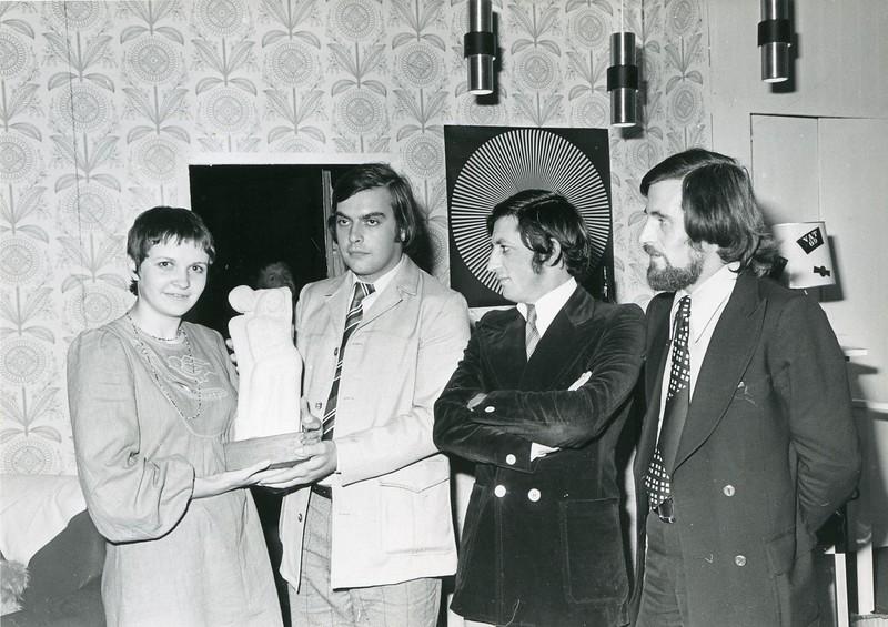 Daniël Termont, 1970's.