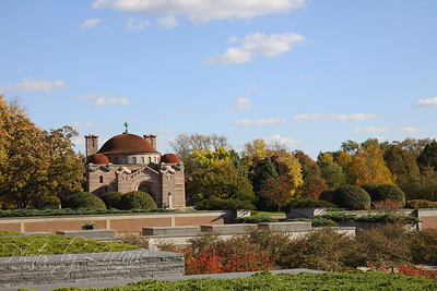 Fall Splendor at Lakewood Cemetery