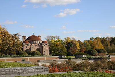 Fall Splendor at Lakewood Cemetery