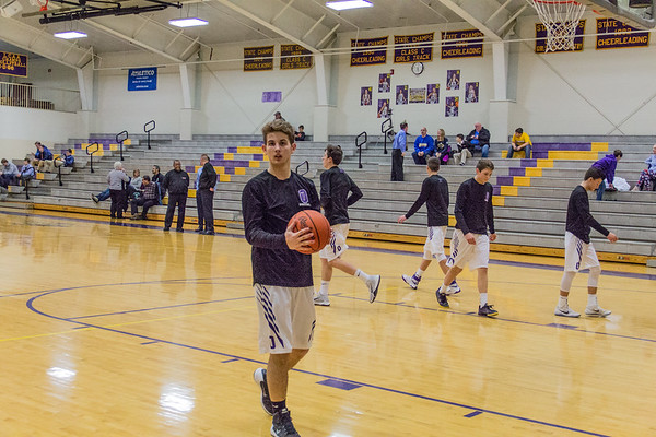 Onsted JV Basketball 2-17-17