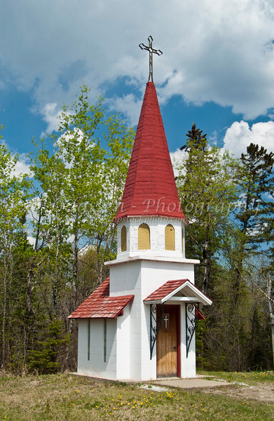 The Norlund Chapel in Emo, Ontario, Canada.