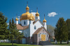 St. George's Ukrainian Greek Orthodox church in Fort Frances, Ontario, Canada.