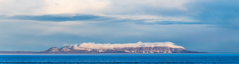A Blanket of Clouds on the Sleeping Giant