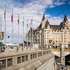 The Fairmont Chateau Laurier hotel in Ottawa, Ontario, Canada.