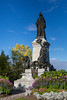 The Queen Victoria Monument on Parliament Hill in Ottawa, Ontario, Canada.
