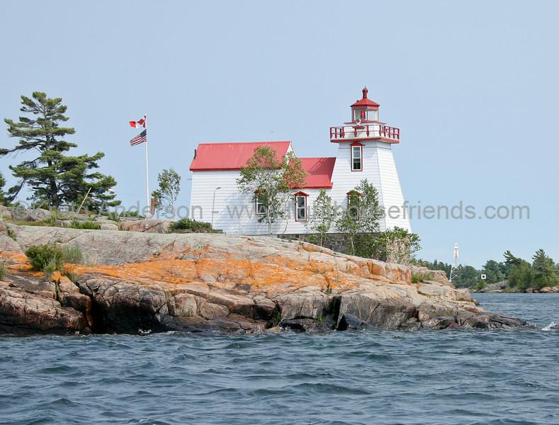 Pointe au Baril Rear Range Lighthouse