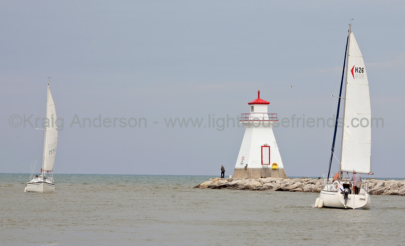 Saugeen River Range Front Lighthouse