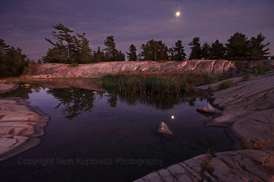 Moonrise Over Georgian Bay (2011)