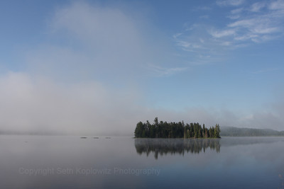 Morning Mist, Lake of Two Rivers (2009)