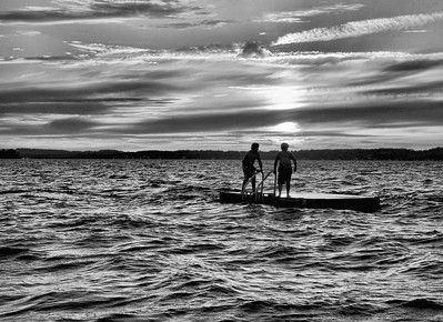 End of Summer, Rice Lake Ont