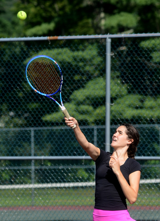 . Tania Barricklo-Daily Freeman                       Isabella Pierson Second in singles
