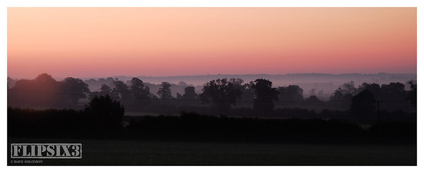 I'm a big fan of that early morning autumn light, where light mist/fog produces 'layers' of increasingly hazy detail.