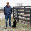 Guiness McFadden with Gauge at Blackwood Stables on<br /> Feb. 27, 2020 Blackwood Stables in Versailles, KY.