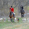 Caption: huntsman leads the way.<br /> Woodford Hounds Blessing on Saturday, November 28, 2010, at Shaker Village near Harrodsburg, Ky.<br /> BlessingHunt2010 image153<br /> Photo by Anne M. Eberhardt