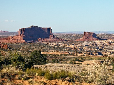Views along Utah State Road 313 to Dead Horse Point State Park