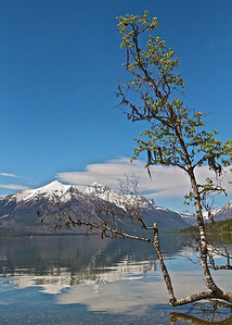 Lake McDonald, Glacier National Park, Montana, in June