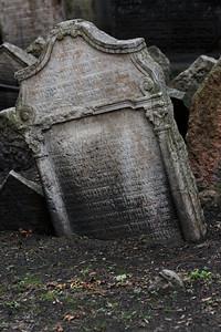 Old Jewish cemetery in Josefov