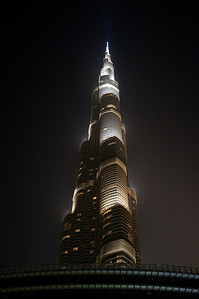 BURJ KHALIFA — The tallest building in the world