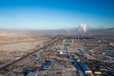 2019 оны арванхоёрдугаар сарын 17. Улаанбаатарын агаарын бохирдол.  ГЭРЭЛ ЗУРГИЙГ Б.БЯМБА-ОЧИР/MPA
