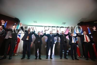 2017 оны нэгдүгээр сарын 27.   Ардчилсан Намын нэр дэвшигчдийн сурталчилгааны хаалтын уулзалт боллоо.ГЭРЭЛ ЗУРГИЙГ Б.БЯМБА-ОЧИР/MPA
