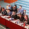 """2016 оны зургадугаар сарын 09. АСЕМ-ын дээд түвшний 11 дүгээр уулзалтын салбар хуралдаан болох Сангийн сайд нарын уулзалт өнөөдөр Улаанбаатар хотод эхэллээ. """"Ази, Европын хөгжлийн төлөөх түншлэл"""" сэдвийн доор болох уулзалт энэ сарын 9-10-ны өдрүүдэд Төрийн ордоны Их танхимд болж байна.<br /> Тус уулзалтад АСЕМ-ын гишүүн 43 орны Сангийн сайд нар болон 220 гаруй төлөөлөгч оролцож байгаа юм.<br /> Уулзалтын үеэр """"Ази болон Европ тивийн макро эдийн засгийн хөгжил, боломж"""", """"Дэлхийн нийтийн болон бүс нутгийн түвшинд санхүүгийн тогтвортой байдлыг хангах нь"""", """"Ази болон Европын таатай харилцаа, хамтын ажиллагаа"""" гэсэн дэд сэдвүүдийн хүрээнд яриа, гишүүн орнуудын Сангийн сайд, олон улсын банк санхүүгийн байгууллагуудын тэргүүнүүд илтгэл тавьж, хэлэлцүүлэг өрнүүлнэ.<br /> Мөн Сангийн сайд нарын 12 дугаар уулзалтын үеэр АСЕМ-ын гишүүн орнууд бүс нутгийн эдийн засгийн өсөлтийг дэмжих хүрээнд хэрэгжүүлж болох төсөв, мөнгөний бодлого, бүтцийн өөрчлөлтийн бодлогуудын талаар санал солилцох, хамтарсан тунхаглал батлах, хоёр талын уулзалтууд хийх зэрэг үйл ажиллагаанууд явагдах аж. ГЭРЭЛ ЗУРГИЙГ Б.БЯМБА-ОЧИР/MPA ГЭРЭЛ ЗУРГИЙГ Б.БЯМБА-ОЧИР/MPA"""