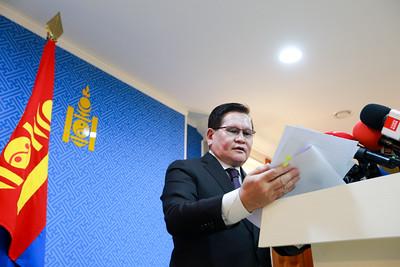 2020 оны хоёрдугаар  сарын 12. Засгийн газрын хуралдааны шийдвэрийн талаар мэдээлэл хийлээ.   ГЭРЭЛ ЗУРГИЙГ Б.БЯМБА-ОЧИР/MPA