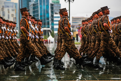 2018 оны долоодугаар сарын 10. Төрийн далбааны өдөрт зориулсан хүндэтгэлийн ёслол Д.Сүхбаатарын талбайд эхэллээ. Хүндэтгэлийн ёслолд Монгол Улсын Ерөнхийлөгч Х.Баттулга, Улсын Их Хурлын дарга М.Энхболд, Ерөнхий сайд У.Хүрэлсүх нар оролцов. ГЭРЭЛ ЗУРГИЙГ MPA