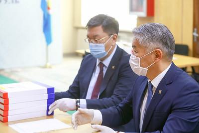 2020 оны тавдугаар сарын 21. МАН-аас УИХ-ын 2020 оны сонгуульд нэр дэвшигчдийн нэрсийг СЕХ-нд албан ёсоор хүргүүллээ.   ГЭРЭЛ ЗУРГИЙГ Д.ЗАНДАНБАТ/MPA