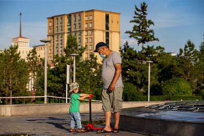 2021 оны долдугаар сарын 7. Улаанбаатар хот.  ГЭРЭЛ ЗУРГИЙГ Б.БЯМБА-ОЧИР/MPA