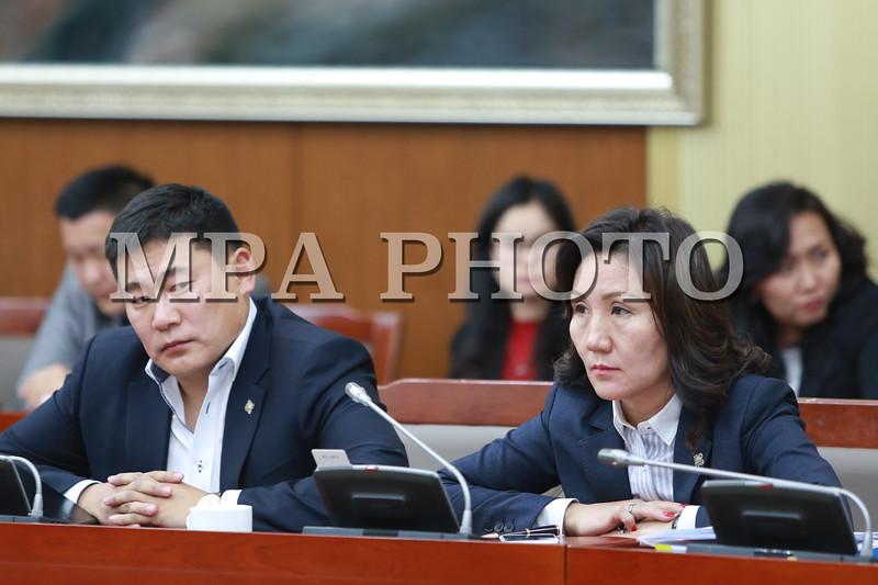 """2016 оны Аравдугаар сарын 25.  Хууль зүйн Байнгын хорооны хуралдаанаар Оросын Холбооны Улсын Засгийн газар болон тус улсын """"Ростех"""" корпорацийн """"Эрдэнэт үйлдвэр"""" ХХК болон """"Монголросцветмет"""" ХХК-нд эзэмшиж байсан 49 хувийн энгийн хувьцааг худалдсан талаархи асуудлаар Засгийн газраас авсан арга хэмжээний тухай болон холбогдох Ажлын хэсгийн дүгнэлтийг хэлэлцэж байгаа юм.<br /> Хэлэлцэж буй асуудалтай холбогдуулан Ерөнхий сайд асан Ч.Сайханбилэг хуралдаанд оролцож байна.<br /> <br /> <br /> ГЭРЭЛ ЗУРГИЙГ Б.БЯМБА-ОЧИР/MPA"""