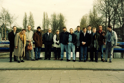Mijn eerste PK  14-2-1988 - toen met een volle OT groep.