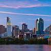 Cincinnati Skyline at Dusk